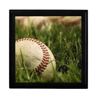 Nostalgic Baseballs Keepsake Box