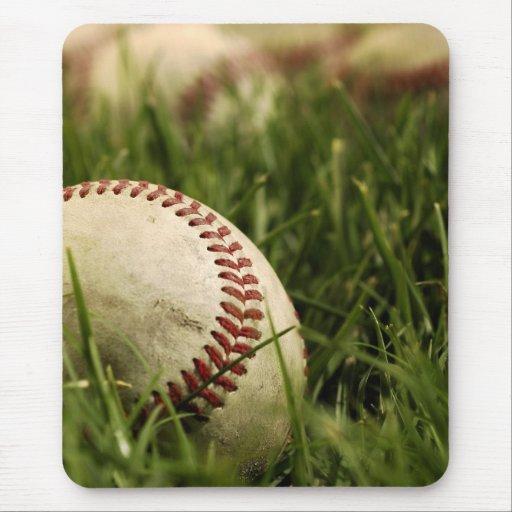 Nostalgic Baseballs Mouse Pad