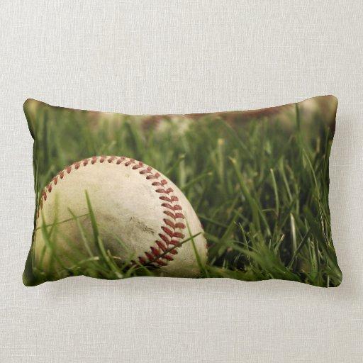 Nostalgic Baseballs Pillow
