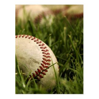 Nostalgic Baseballs Postcard