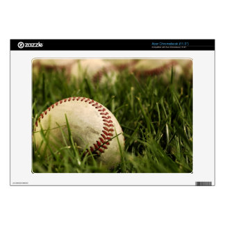 Nostalgic Baseballs Skin For Acer Chromebook