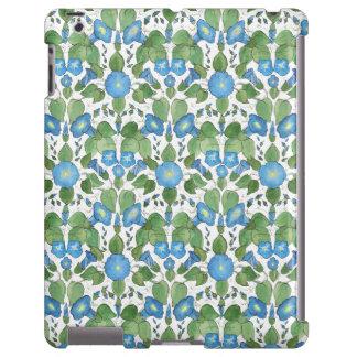 Nostalgic Blue Morning Glory Case-Mate iPad Case