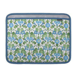 Nostalgic Blue Morning Glory MacBook Air Sleeve