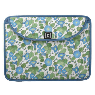 Nostalgic Blue Morning Glory MacBook Pro Sleeve