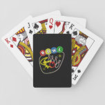 "Nostalgic Bowling Playing Cards<br><div class=""desc"">Show your love of the great sport of bowling with this nostalgic bowling design.</div>"