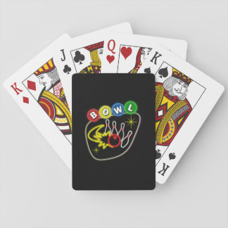 Nostalgic Bowling Poker Deck