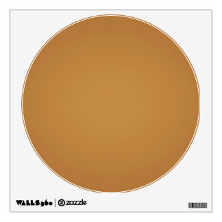 Nostalgic Burnt Orange Wall Sticker