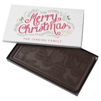 Nostalgic Christmas Holiday Box of Chocolates