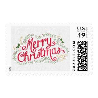 Nostalgic Christmas Holiday Postage
