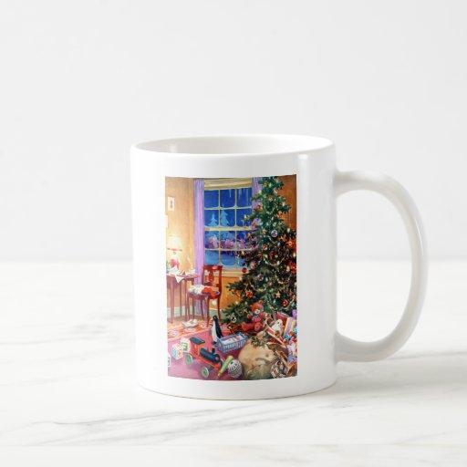 Nostalgic Christmas Tree Classic White Coffee Mug