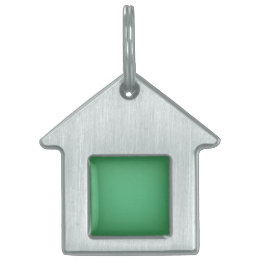 Nostalgic Emerald Pet ID Tag