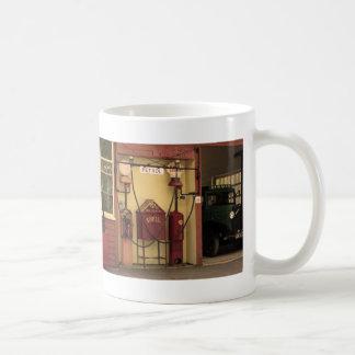 Nostalgic Gas Station Coffee Mug