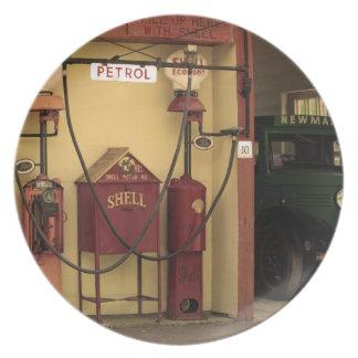 Nostalgic Gas Station Plates