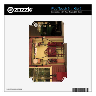 Nostalgic Gas Station iPod Touch 4G Decals