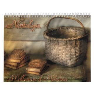 Nostalgic II - A Collection of Memories Calendar