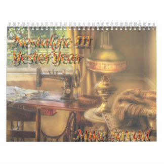 Nostalgic III - Yesteryear Calendar
