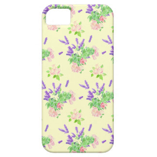 Nostalgic Lavender and Roses on Cream iPhone SE/5/5s Case