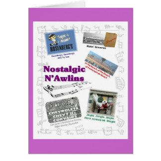 Nostalgic N'Awlins Jingles Greeting Card