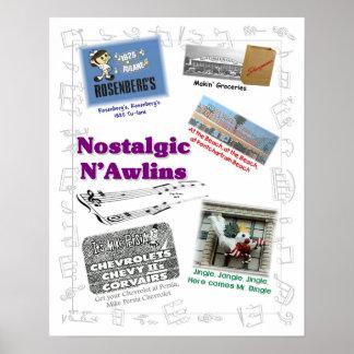 Nostalgic N'Awlins Jingles Poster