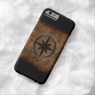 Nostalgic Old Compass Rose Design Barely There iPhone 6 Case