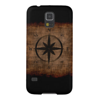 Nostalgic Old Compass Rose Design Galaxy S5 Cover