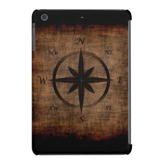Nostalgic Old Compass Rose Design iPad Mini Cover