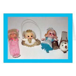 Nostalgic Ornaments, Happy Holidays! Card