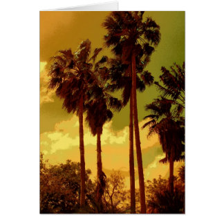 Nostalgic Palms Card