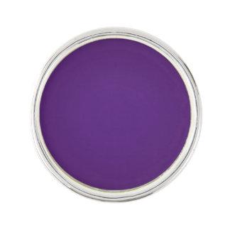 Nostalgic Royal Purple Lapel Pin