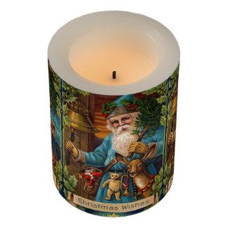 Nostalgic Santa Flameless Candle