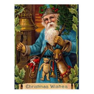 Nostalgic Santa Postcard