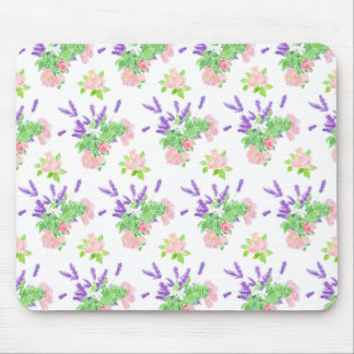 Nostalgic Scents of Summer Pattern Mousepad