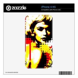 Nostalgic Seduction - Butterfly Headcase iPhone 4 Skins