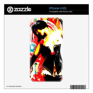 Nostalgic Seduction - Damsel In Domination Skin For iPhone 4