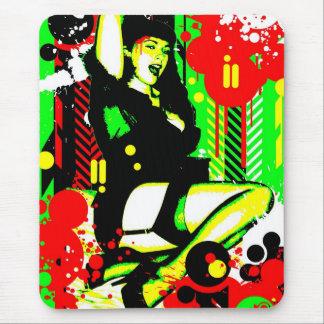 Nostalgic Seduction - Forever Pinup I Mouse Pad