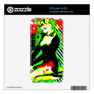 Nostalgic Seduction - Forever Pinup III Skins For iPhone 4