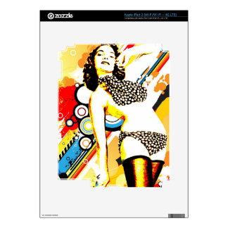 Nostalgic Seduction - Polka Dottie iPad 3 Decal