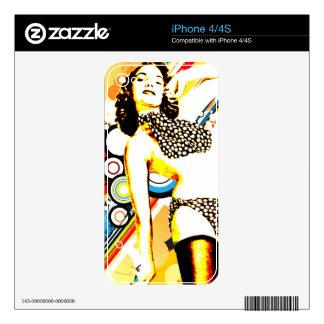 Nostalgic Seduction - Polka Dottie Skins For The iPhone 4