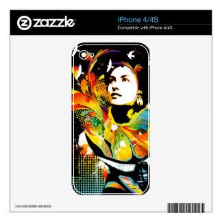 Nostalgic Seduction - Soul Explosion Dark Skin For The iPhone 4