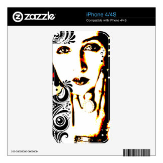 Nostalgic Seduction - Subjected to Ink iPhone 4S Decals