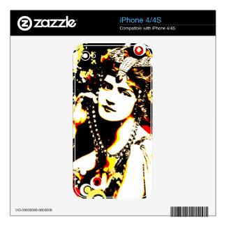 Nostalgic Seduction - Victorian Temptation Skins For iPhone 4
