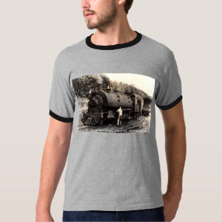 Nostalgic Steam Train T Shirt