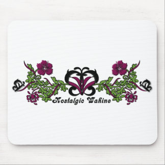 Nostalgic Wahine Butterfly Mouse Pad