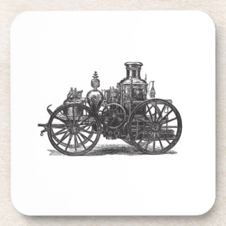 Nostalgically Exquisite Vintage Steam Punk Engine Drink Coaster