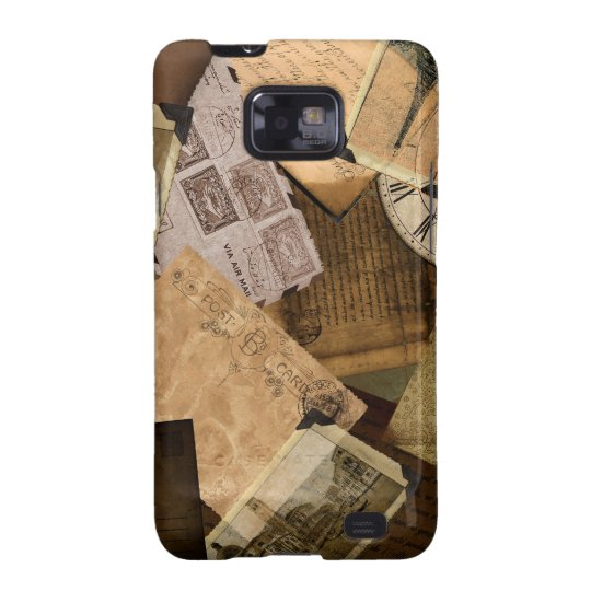Nostalic Travels Sepia Galaxy SII Cover