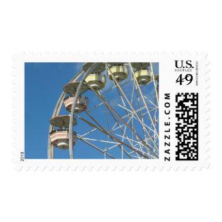 Nostalig ride postage stamps