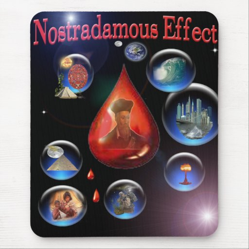 Nostradamous Effect mouse pad