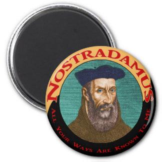 Nostradamus Imán Redondo 5 Cm