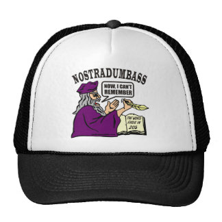 NOSTRADUMBASS TRUCKER HAT