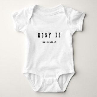 Nosy Be Madagascar Baby Bodysuit